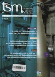Techniques sciences méthodes. 3, Jeudi 9 Mars 2017  