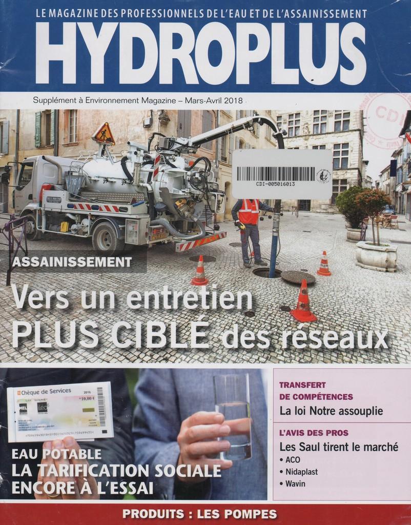 Hydroplus. 245, Vendredi 9 Mars 2018 |