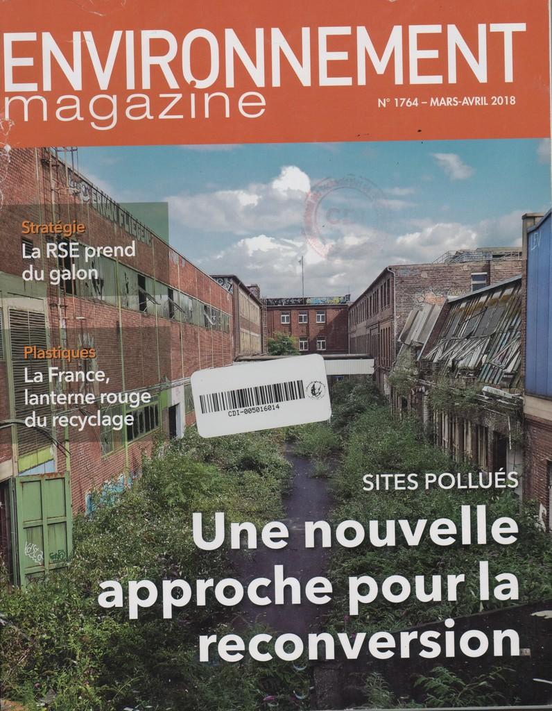 Environnement magazine. 1764, Vendredi 9 Mars 2018 |