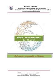 Echos Environnement du 24-06-2018 |
