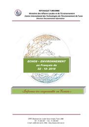 Echos - Environnement du 02-10-2018  